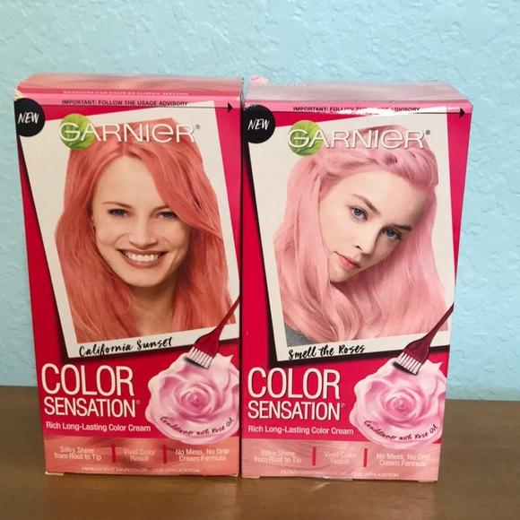 Garnier color sensation bundle of 2